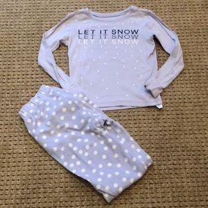 Girls Size 8 GAP Pajama Set